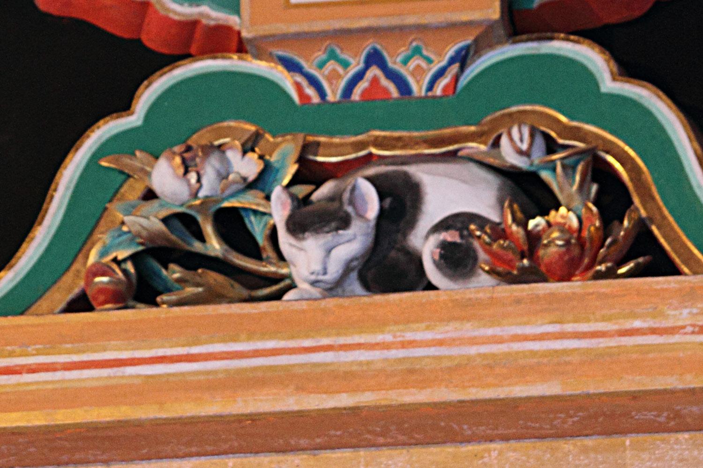 El nemuri neko (gato dormido) de Nikko
