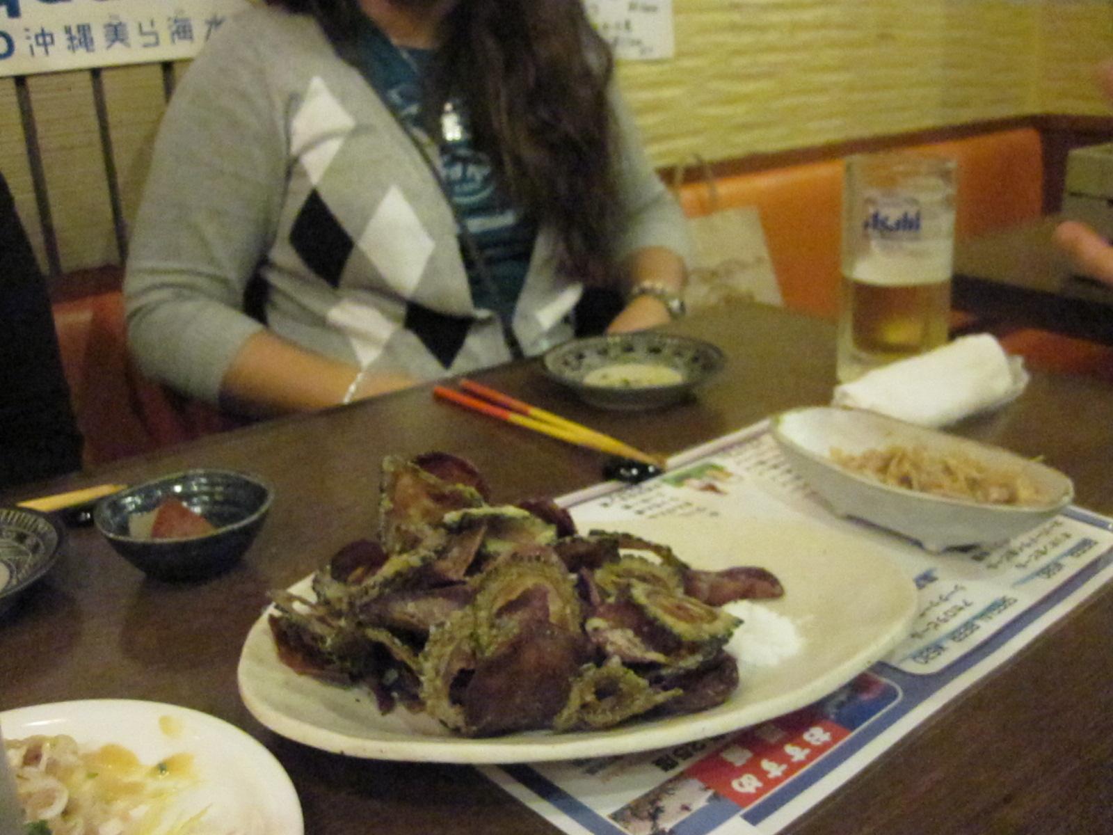Chips de vegetales, estilo Okinawa