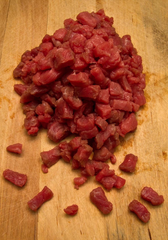 Carne de res para preparar Mapo Tofu
