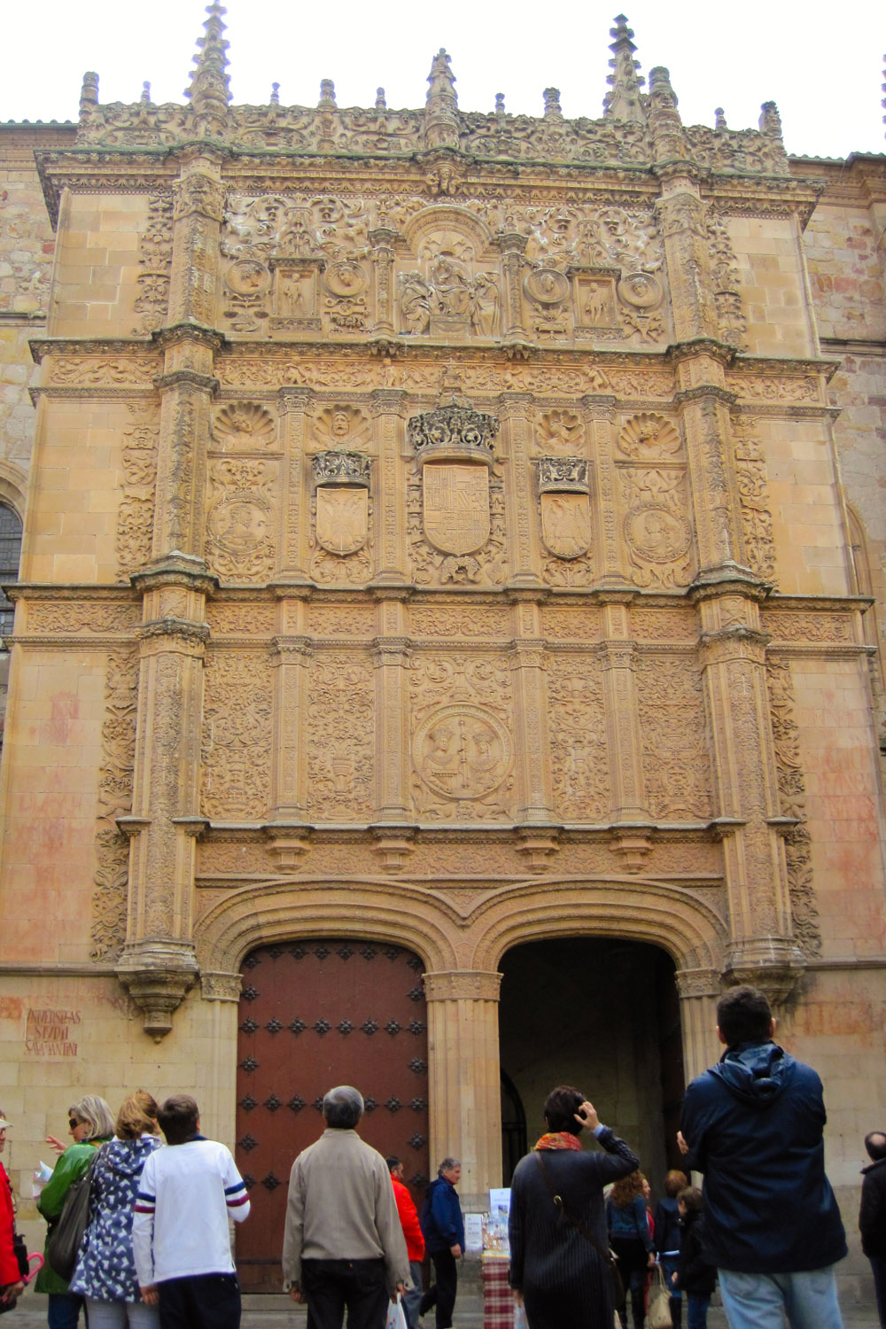 Fachada de la Universidad Civil de Salamanca