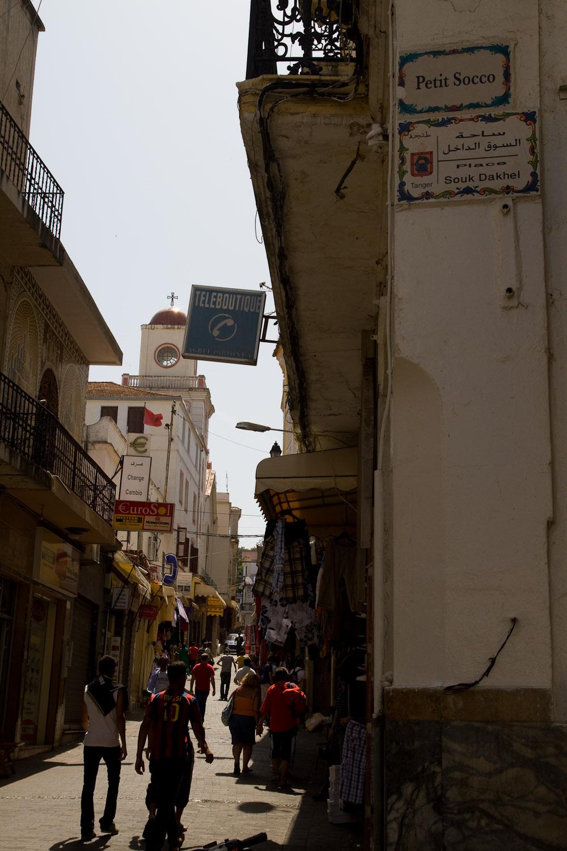 Callejeando por la medina - Tánger, Marruecos