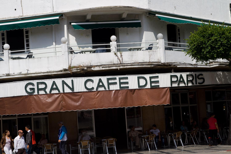 Gran Café de Paris - Tánger, Marruecos