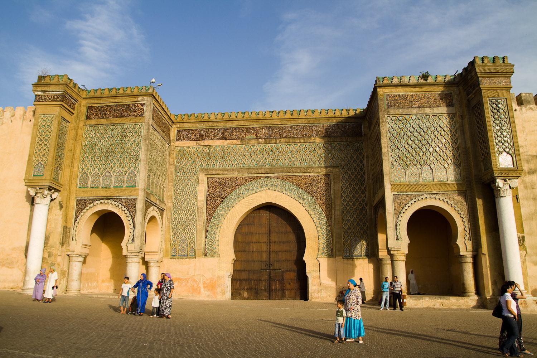 Bab el Mansour - Meknès, Marruecos