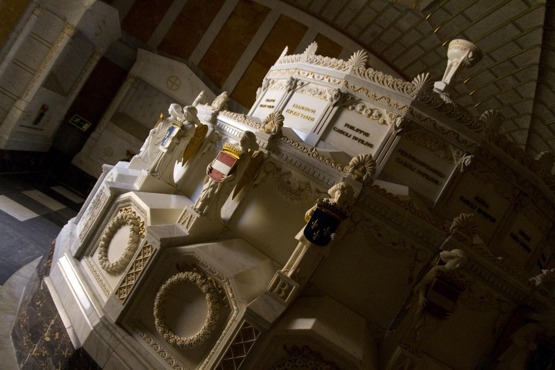 Panteón de los Infantes en el Monasterio de San Lorenzo de El Escorial, España