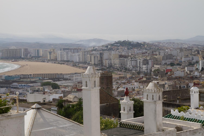 Tánger desde la terraza de La Tangerina