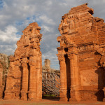 Ruinas de la reducción jesuita de San Ignacio Miní, Argentina