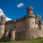 Castillo de Manzanares el Real, España