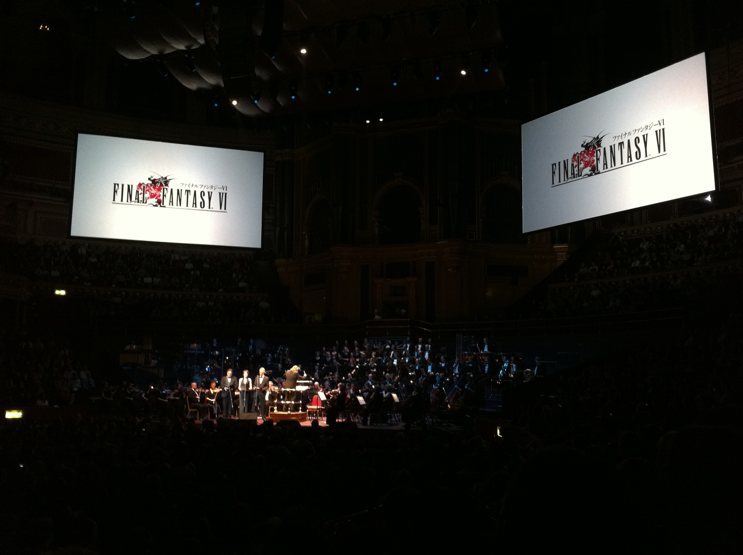 Concierto Distant Worlds en el Royal Albert Hall de Londres, 2011
