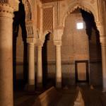 Tumbas saadíes, Marrakech, Marruecos