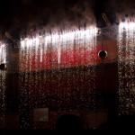 Cortina pirotécnica, fête des lumières 2011 de Lyon, Francia