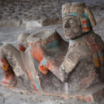 Chac-mool en el Templo Mayor de Tenochtitlan, México D.F., México