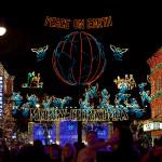Espectáculo de luces de la familia Osborne en Disney's Hollywood Studios, Orlando, FL, EE.UU.