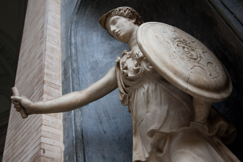 Estatua de Atenea en los Museos Vaticanos, Ciudad del Vaticano