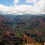 El cañón Waimea, en la isla de Kauai, Hawaii, EE.UU.