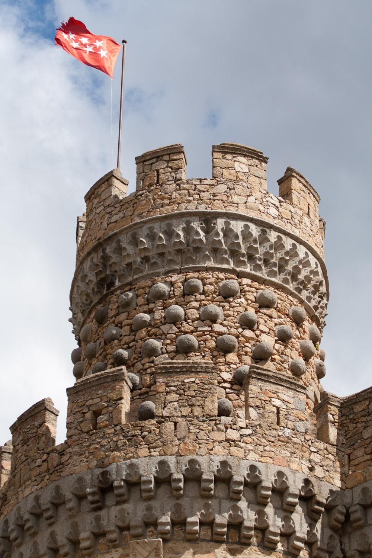 Torre del castillo de manzanares el real comunidad de for Comunidad de madrid rea