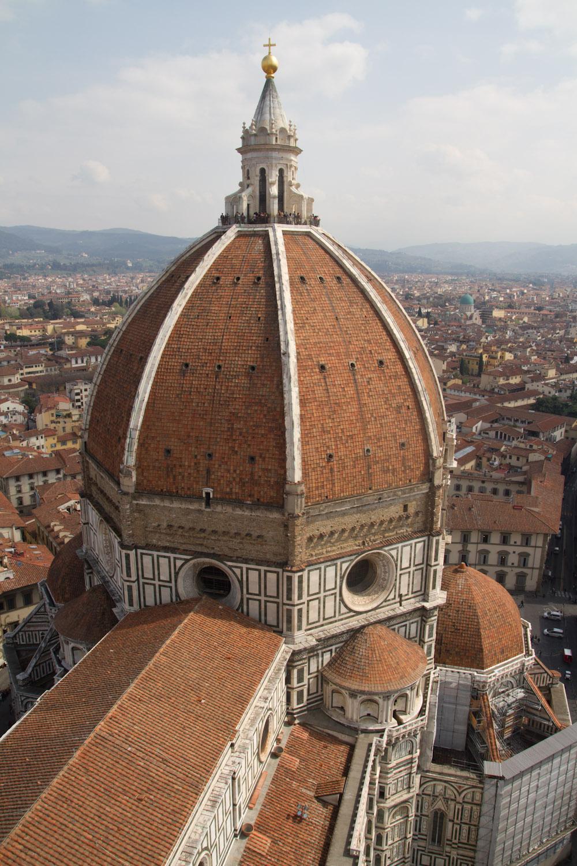 Exterior de la cúpula del Duomo de Florencia