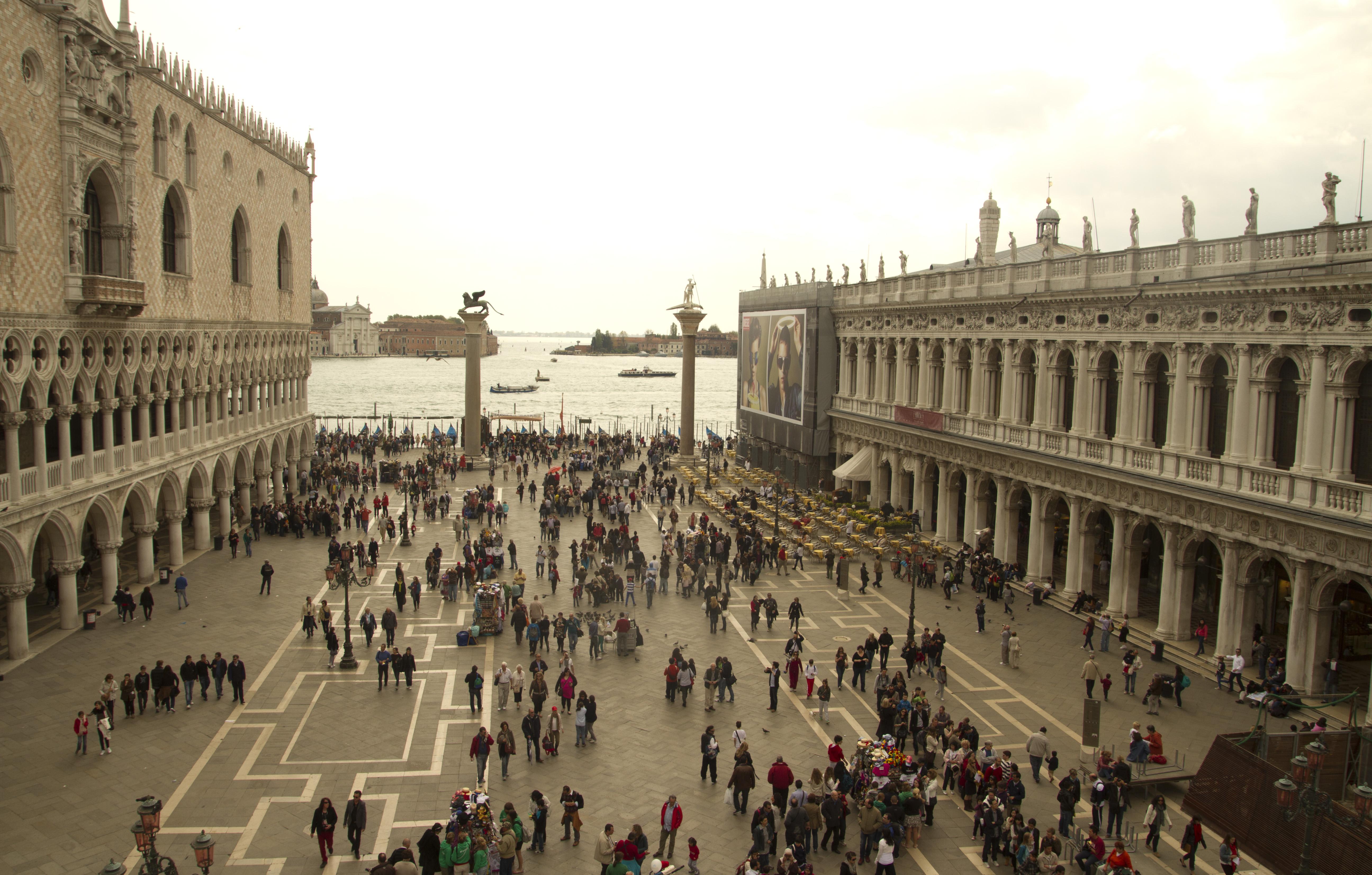 Las vistas del canal de la Giudecca desde la terraza de la Basílica de San Marcos
