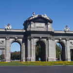 La Puerta de Alcalá, Madrid, España