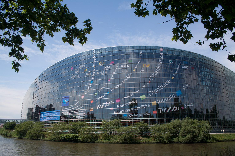 Sede del parlamento europeo en estrasburgo francia el for Sede del parlamento