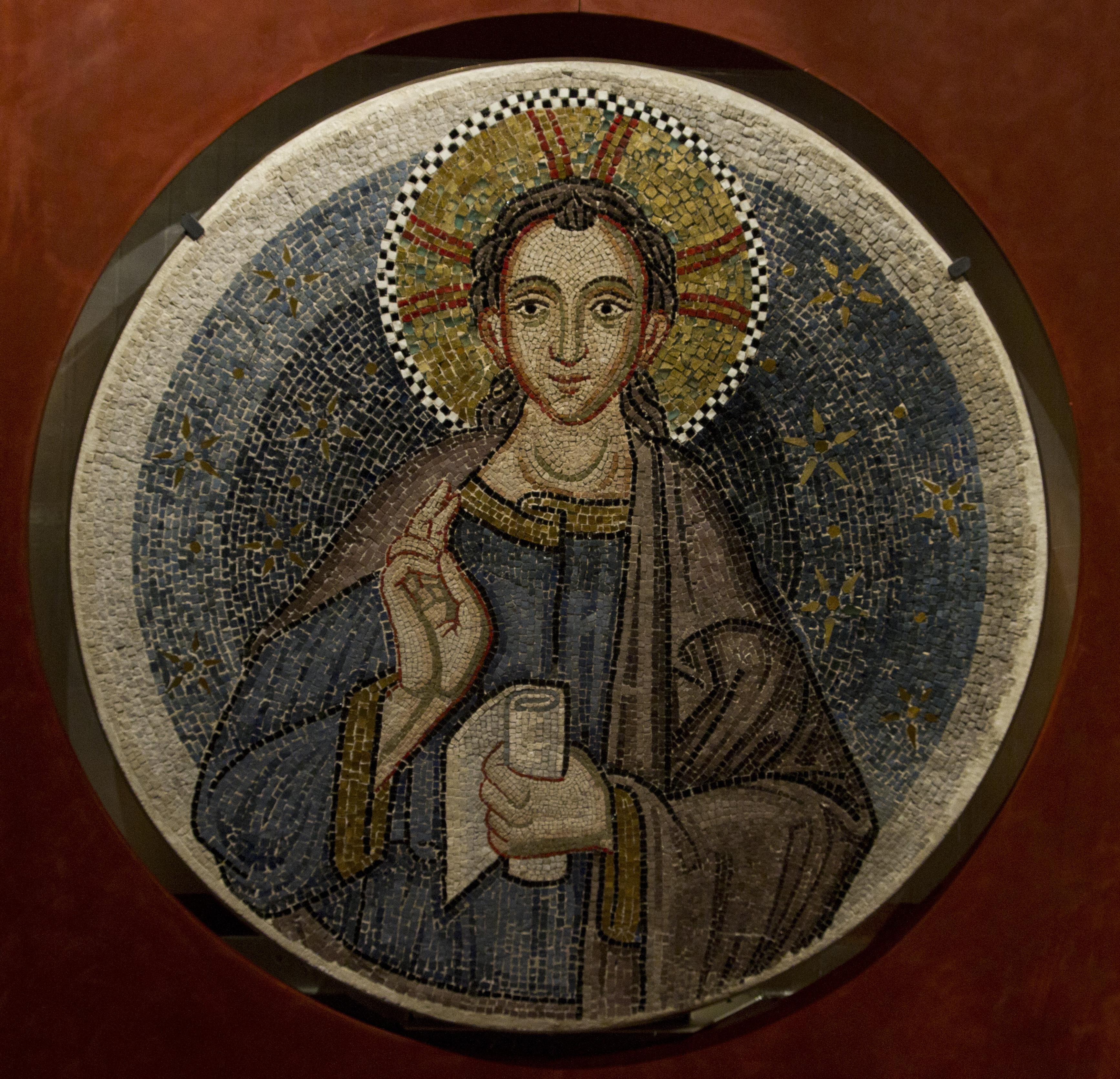 Mosaico de San Marcos en el museo de la basílica