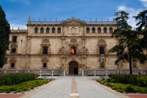 Fachada del Colegio de San Ildefonso, Alcalá de Henares, Madrid