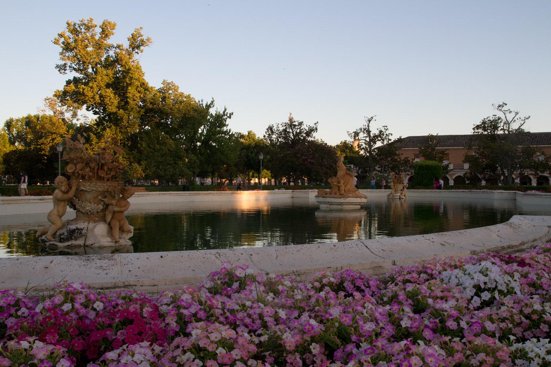 Fuente de ceres en los jardines del palacio real de for Los jardines de aranjuez