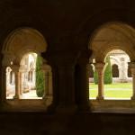 Claustro de la Abadía de Fontenay, Marmagne, Francia