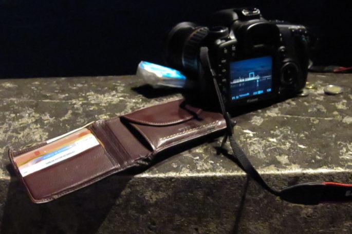 Artilugio para tomar fotos nocturnas sin trípode