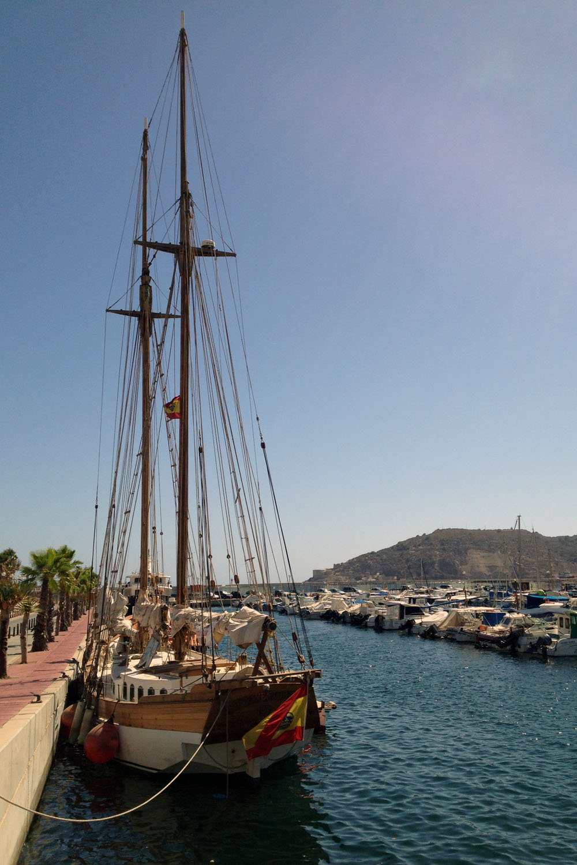 Puerto de Cartagena, Murcia, España