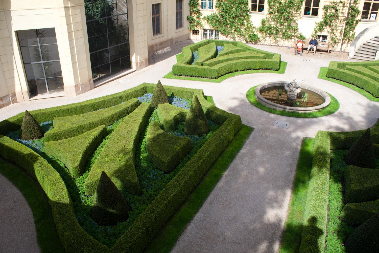 El jard n barroco de vrtba praga rep blica checa el for Jardines barrocos