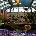 Jardín interior del Hotel Bellagio en Las Vegas, Estados Unidos