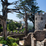 Ruinas del Castelo dos Mouros, Sintra, Portugal