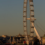 Atardecer en el London Eye, Londres, Inglaterra