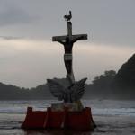 Cristo Negro entre Isla Grande y tierra firme, Panamá