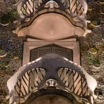 Balcones de las plantas superiores de la Casa Batlló, Barcelona, España