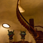 Vestíbulo de la Casa Batlló, Barcelona, España