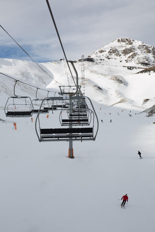 Esquiando en Navidades en Arinsal, Andorra