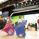 Baile típico panameño en FITUR 2013