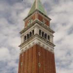 Campanario de la Basílica de San Marcos, Venecia, Italia