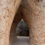 La puerta del convento, Ciudad Encantada, Cuenca, España