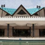 Salón principal de la Mezquita Nacional, Kuala Lumpur, Malasia