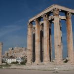Templo de Zeus Olímpico, Atenas, Grecia