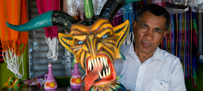 Tradiciones panameñas: Las manos detrás de la máscara, parte II