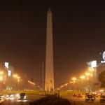 Avenida 9 de Julio y obelisco, Buenos Aires, Argentina