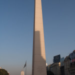 Obelisco de la avenida 9 de Julio, Buenos Aires, Argentina
