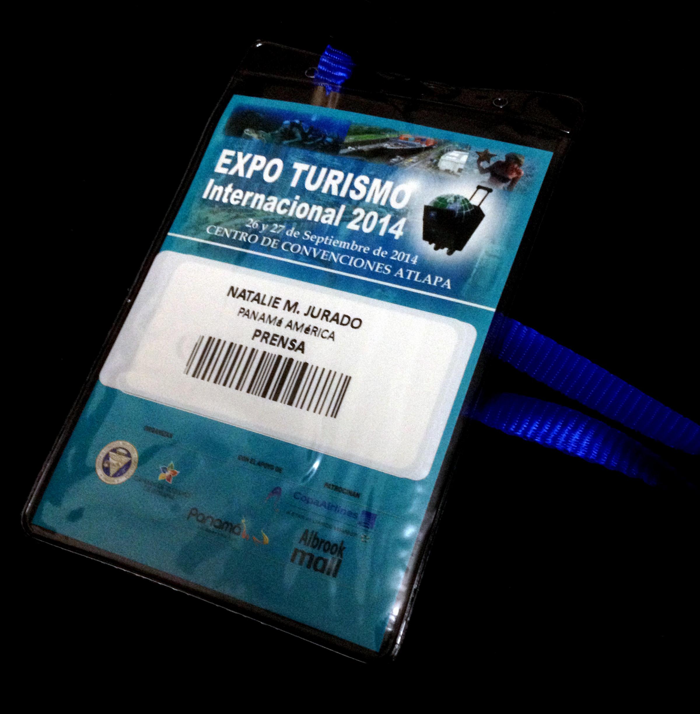 Gafete de Prensa para acceder a la Feria Internacional de Turismo 2014
