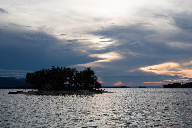 Atardecer en San Blas o Guna Yala, Panamá