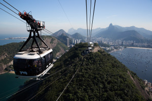 Río de Janeiro, visto desde el Pan de Azúcar, Brasil