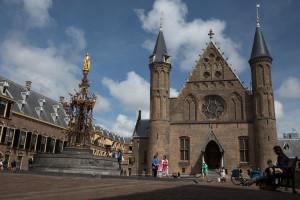 Binnenhof, la sede del gobierno de los Países Bajos en La Haya