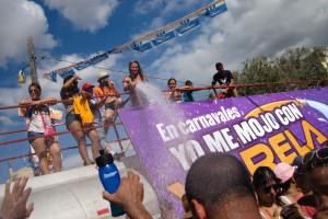 Culecos en carnavales en Ocú, Panamá